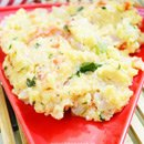 Rava Vegetable Upma in Microwave