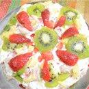 Fresh Fruit Cake in Microwave