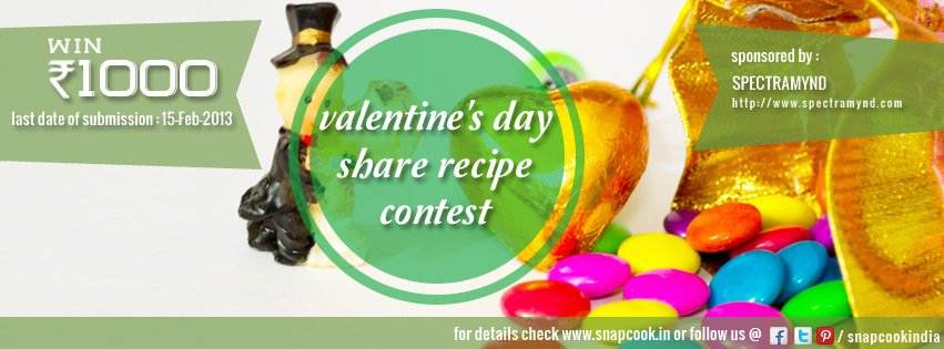 valentines day recipe contest