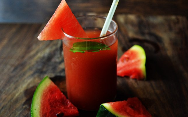 Watermelon IcedTea recipe – Flavored Easy Iced Tea recipe